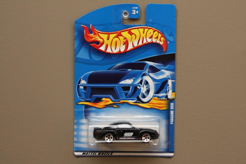 Hot Wheels 2000 Collector Series Porsche 959 (black)