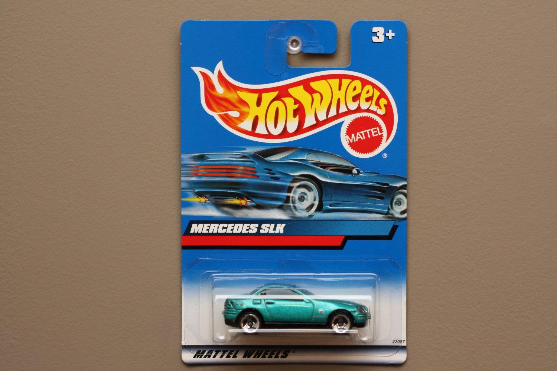 Hot Wheels 2000 Collector Series Mercedes SLK (teal)