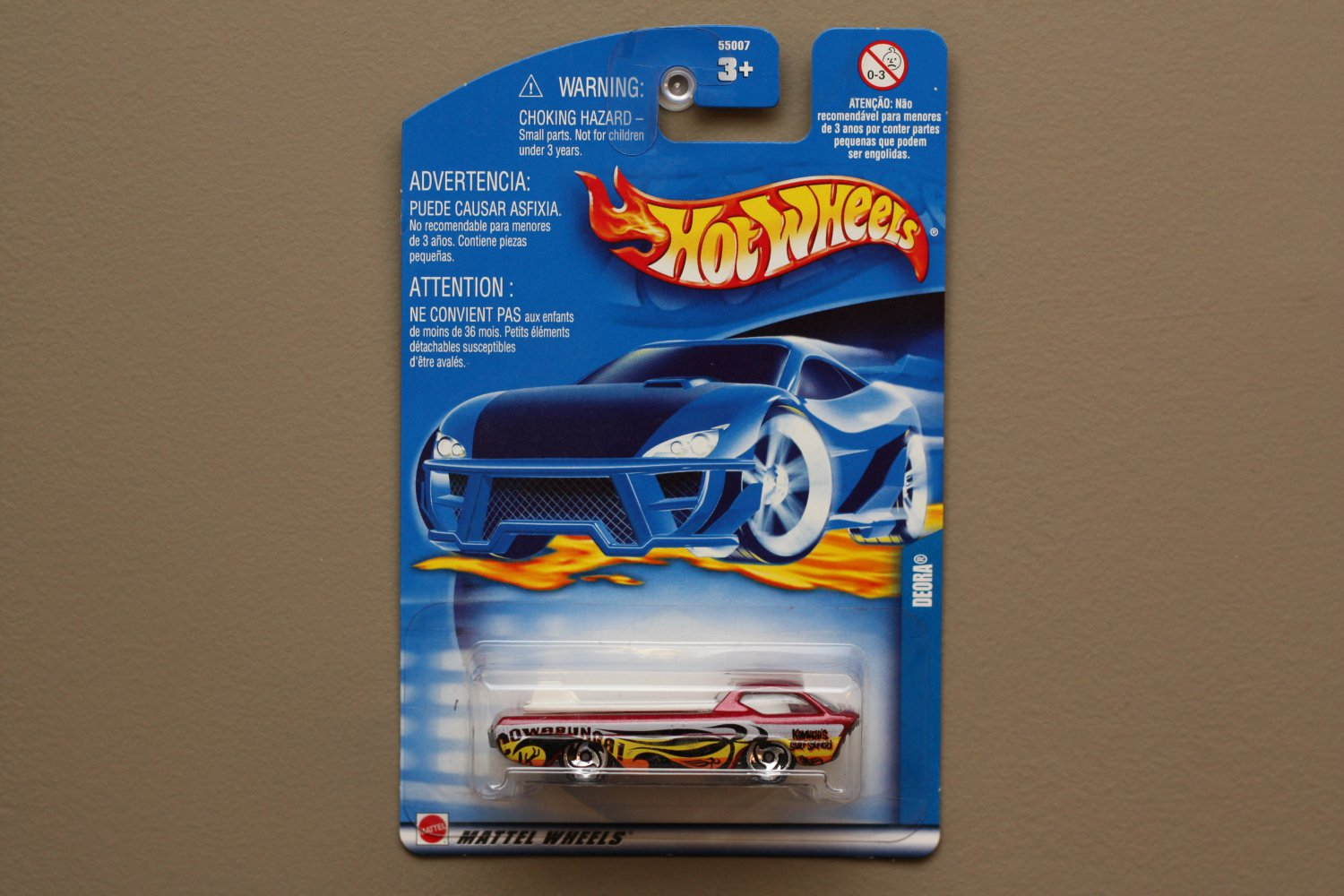 Hot Wheels 2002 Collector Series Deora (red)