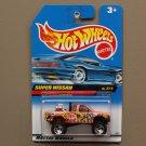 Hot Wheels 1998 Mixed Signals Series Super Nissan Truck (orange)