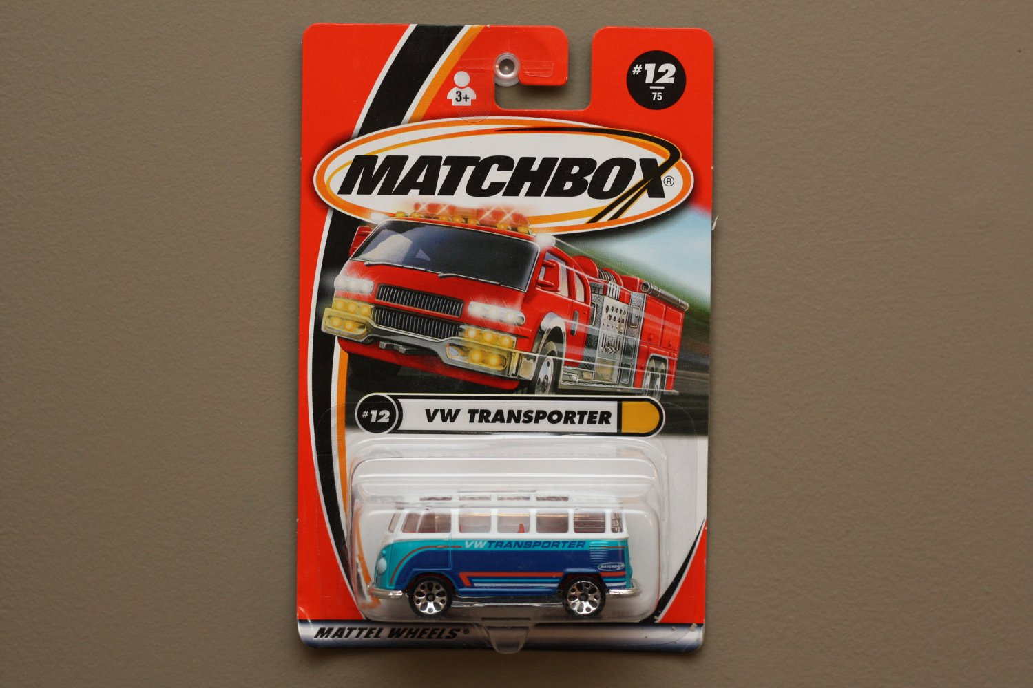 Matchbox 2000 Hiway Heroes Volkswagen Transporter (white/blue)