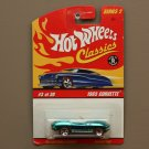 Hot Wheels 2006 Classics Series 2 1965 Corvette (chrome teal)