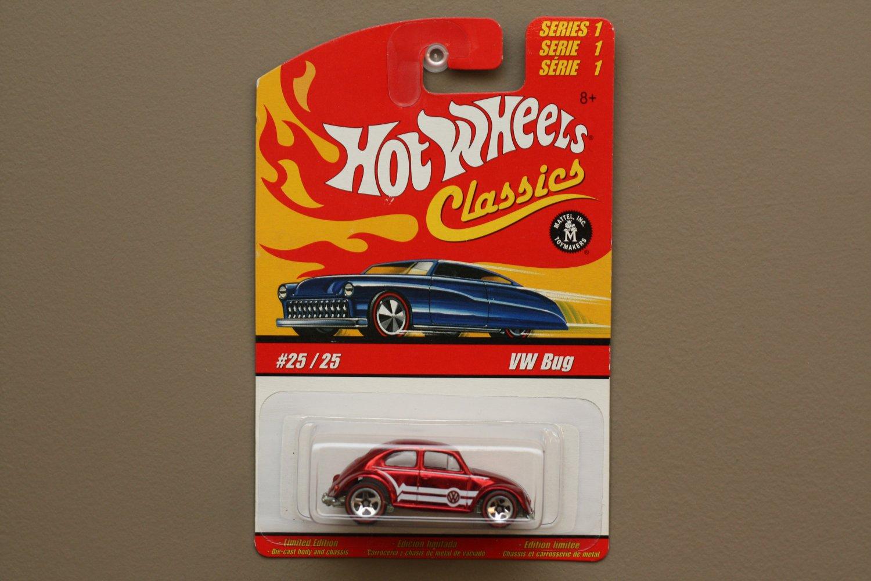 Hot Wheels 2005 Classics Series 1 VW Bug (Volkswagen Beetle) (red)
