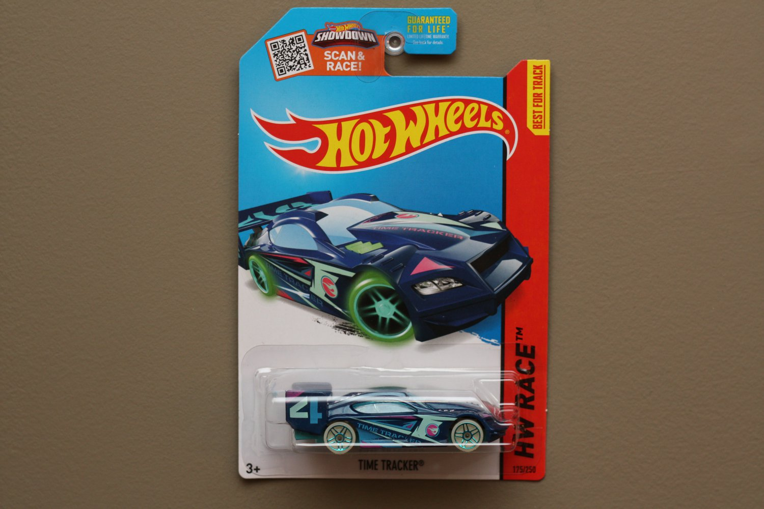 Hot Wheels 2015 HW Race Time Tracker (blue) (Treasure Hunt)