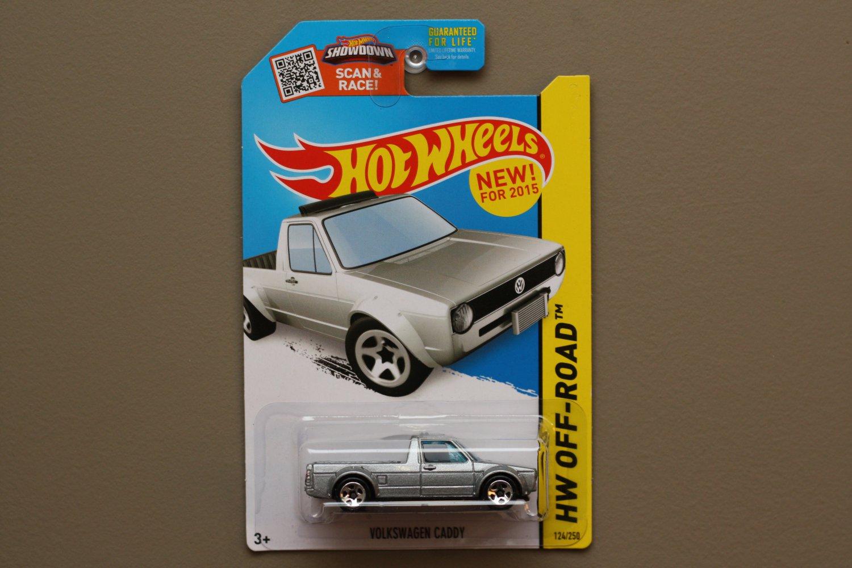 Hot Wheels 2015 HW Off-Road Volkswagen Caddy (silver)