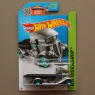 Hot Wheels 2015 HW Workshop Fast-Bed Hauler (ZAMAC silver - Walmart Excl.)