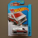 Hot Wheels 2015 HW City Super Van (ZAMAC silver - Walmart Excl.)