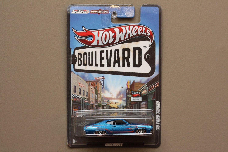 Hot Wheels Boulevard Case C '70 Ford Torino