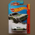 Hot Wheels 2015 HW Race '68 Mercury Cougar (ZAMAC silver - Walmart Excl.)