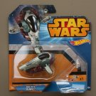 Hot Wheels 2015 Star Wars Ships Boba Fett's SLAVE I