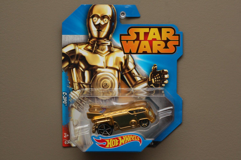 Hot Wheels 2015 Entertainment Star Wars C-3PO (based off a VW Volkswagen Drag Bus)