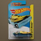 Hot Wheels 2015 HW Off-Road Mad Splash (yellow/blue) (Treasure Hunt)