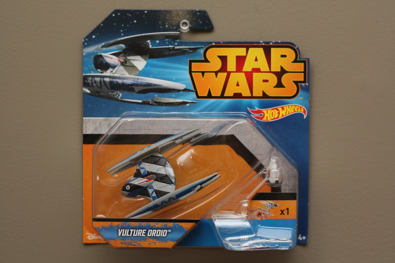 Hot Wheels 2015 Star Wars Ships Vulture Droid