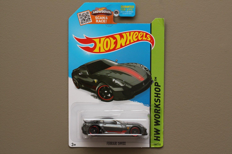 [ASSEMBLY ERROR] Hot Wheels 2015 HW Workshop Ferrari 599XX (graphite)