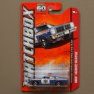 Matchbox 2013 MBX Heroic Rescue '78 Dodge Monaco Police Car (blue)