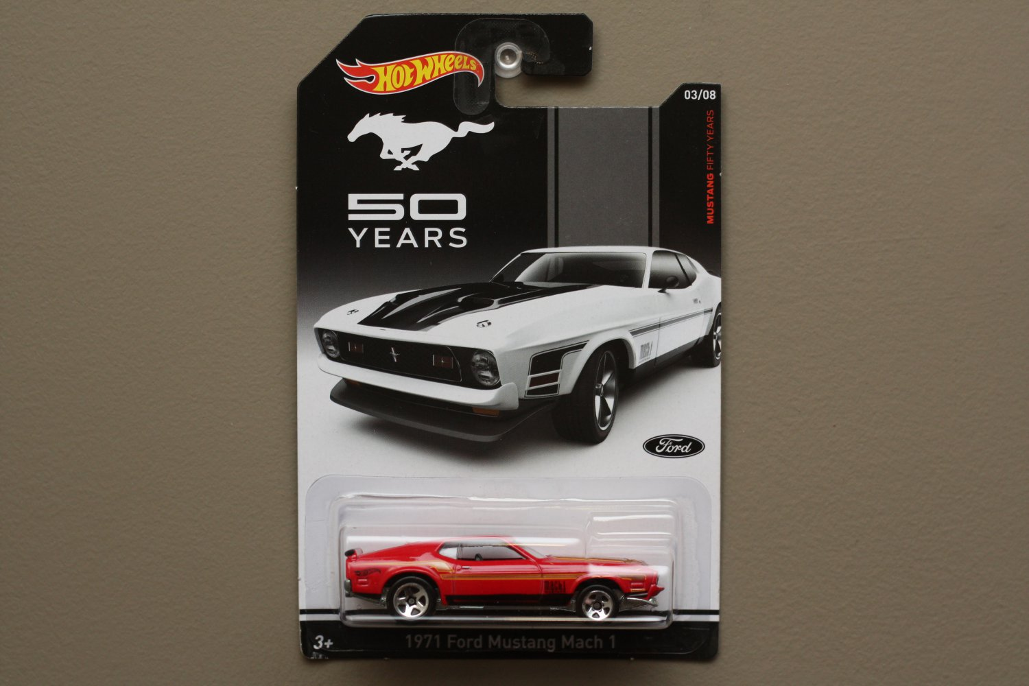 Hot Wheels 2014 Mustang 50 Years 1971 Ford Mustang Mach 1