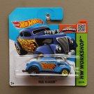 [WHEEL ERROR] Hot Wheels 2015 HW Workshop Pass 'N Gasser (blue)
