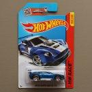[MISSING TAMPO ERROR] Hot Wheels 2015 HW Race Aston Martin Vantage GT3 (blue)