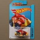 Hot Wheels 2015 HW City Piranha Terror (red) (Treasure Hunt)
