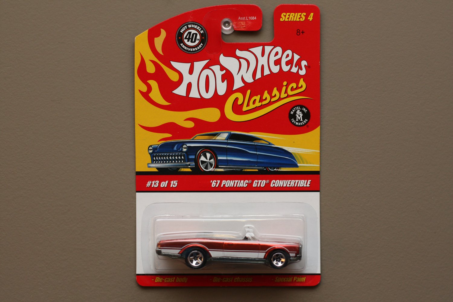 Are hot wheels 67 pontiac gto convertible