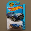 Hot Wheels 2015 HW City Rocketfire (blue) (Treasure Hunt)