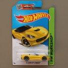 Hot Wheels 2015 HW Workshop '14 Corvette Stingray Convertible (yellow)