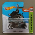 Hot Wheels 2015 HW Workshop Ducati 1199 Panigale (grey)