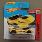 Hot Wheels 2015 HW Race Corvette C7R (yellow)