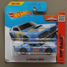 Hot Wheels 2015 HW Race '68 Mercury Cougar (blue) (SEE CONDITION)