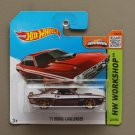 Hot Wheels 2015 HW Workshop '71 Dodge Challenger (burgundy) (SEE CONDITION)