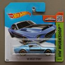 Hot Wheels 2015 HW Workshop '68 Shelby GT-500 (blue)
