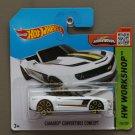 Hot Wheels 2015 HW Workshop Camaro Convertible Concept (white)