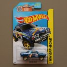 Hot Wheels 2015 HW Off-Road Subaru Brat (blue) (SEE CONDITION)