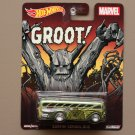 Hot Wheels 2015 Pop Culture Marvel Surfin' School Bus (Groot)