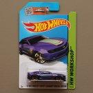 Hot Wheels 2015 HW Workshop '13 Hot Wheels Chevy Camaro Special Edition (purple)