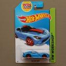 Hot Wheels 2014 HW Workshop 2013 SRT Viper (blue)