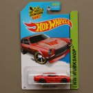 Hot Wheels 2014 HW Workshop Custom V-8 Vega (red) (SEE CONDITION)