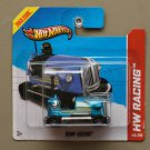 Hot Wheels 2013 HW Race Bump Around (blue) (SEE CONDITION)