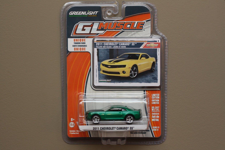 Greenlight GL Muscle Series 11 2011 Chevrolet Camaro SS (Green Machine)