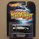 Hot Wheels 2015 Retro Entertainment Delorean Time Machine (Hover Mode) (Back To The Future Part II)