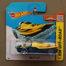 Hot Wheels 2015 HW Off-Road Mad Splash (yellow/blue) (Treasure Hunt)