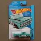 Hot Wheels 2015 HW City Custom '62 Chevy (turquoise)