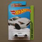 Hot Wheels 2015 HW Workshop Nissan 370Z (white)