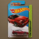 Hot Wheels 2015 HW Workshop '96 Nissan 180SX Type X (red)