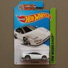 Hot Wheels 2015 HW Workshop '90 Acura NSX (white)