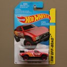 Hot Wheels 2015 HW Off-Road Toyota Off-Road Truck (red) (SEE CONDITION)