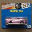 [MISSING WHEELS ERROR] Hot Wheels 1991 Gleam Team Edition Porsche 959 (pink) (SEE CONDITION)