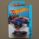 Hot Wheels 2015 HW City Loopster (blue) (hands down variation)
