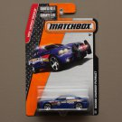 Matchbox 2015 MBX Heroic Rescue Dodge Charger Pursuit (blue)