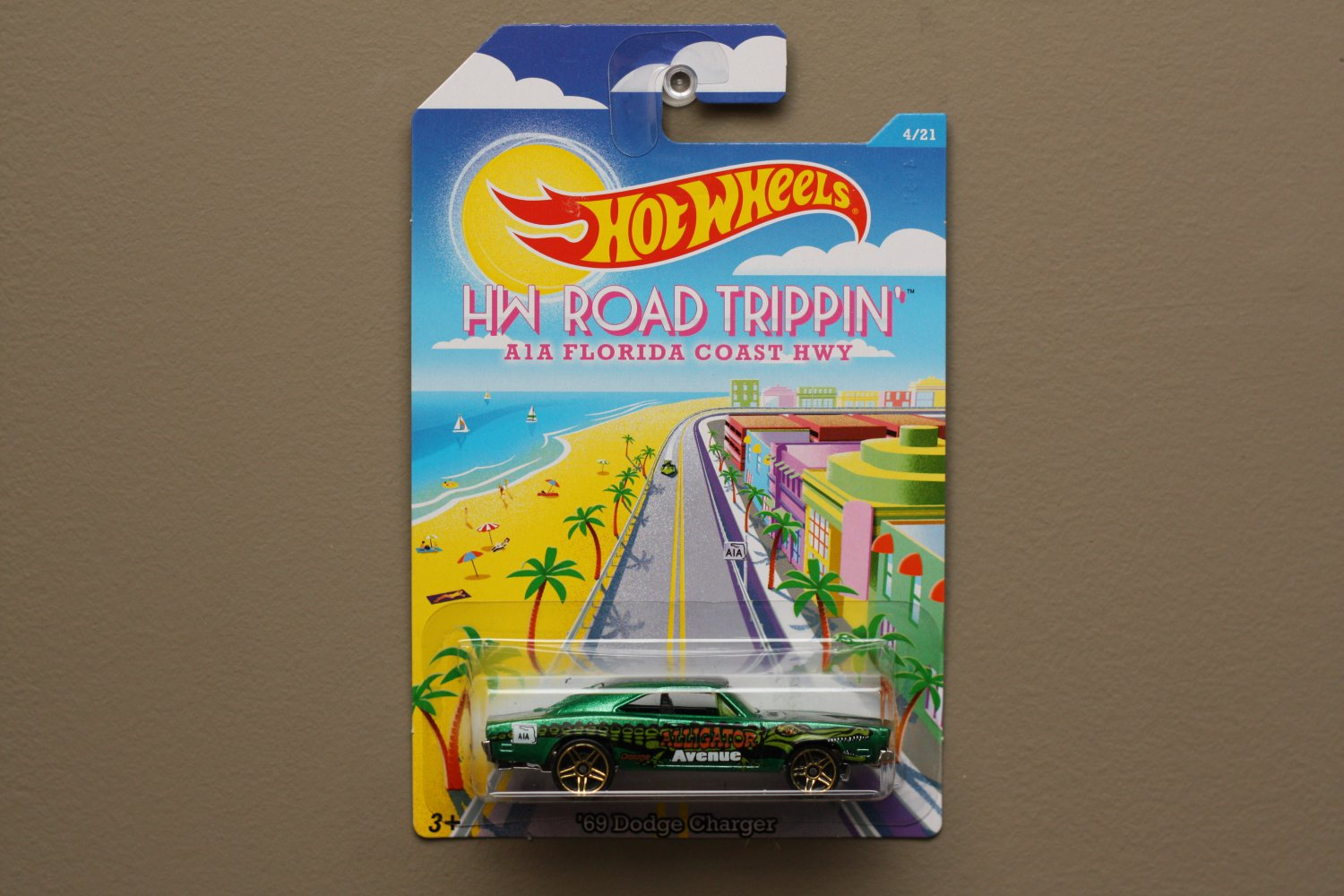 Hot Wheels 2015 Road Trippin' '69 Dodge Charger